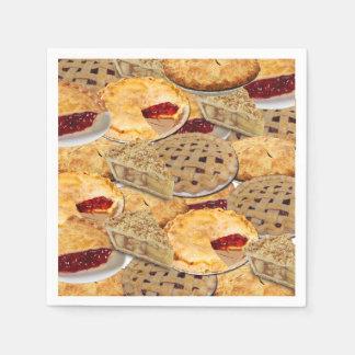 Pie Paper Napkin