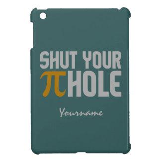 """""""Pie (pi) Hole"""" custom monogram cases iPad Mini Cases"""