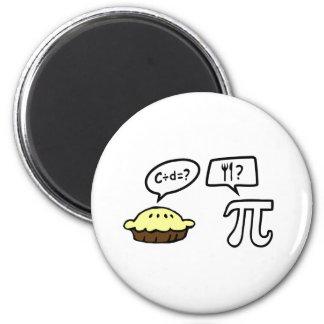 Pie & Pi Magnet