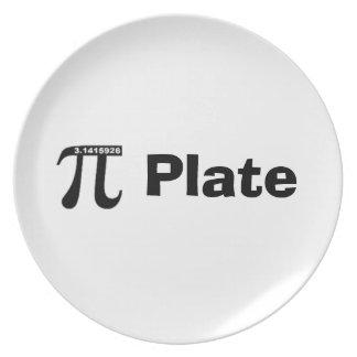 Pie Plate (Pi Plate) - white