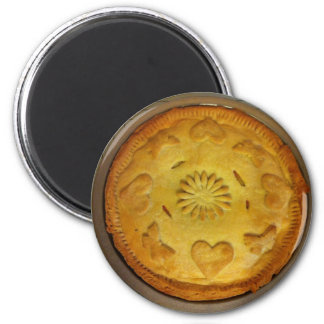 Pie Refrigerator Magnet
