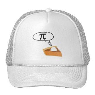 Pie Thinking of Pi Mesh Hat