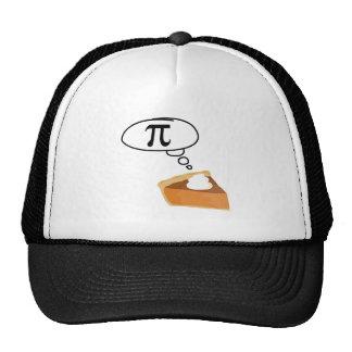 Pie Thinking of Pi Trucker Hats