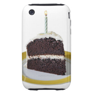 Piece of Birthday Cake iPhone 3 Tough Case