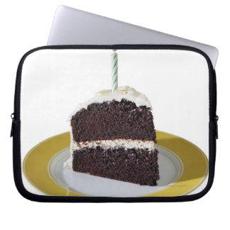 Piece of Birthday Cake Laptop Sleeve