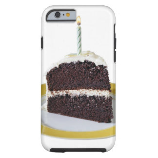 Piece of Birthday Cake Tough iPhone 6 Case