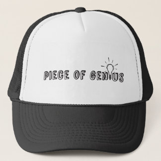 Piece of Genius Trucker Hat