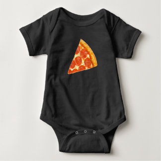 Piece of Me Pizza Baby Bodysuit