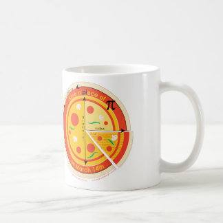PIece of Pie on Pi Day mug