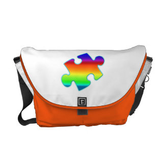 Piece of Rainbow Courier Bag