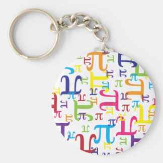 Piece of the Pi Basic Round Button Key Ring