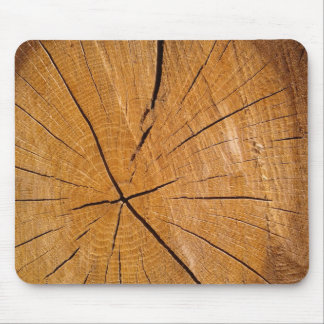 Piece of wood rustic wooden cover mouse mat