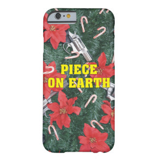 Piece On Earth Gun Christmas Barely There iPhone 6 Case