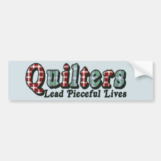 Pieceful Life Bumper Sticker