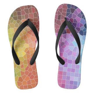 Pieces of Colour Flip Flops