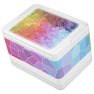 Pieces of Colour Igloo Cooler