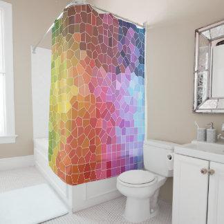 Pieces of Colour Shower Curtain