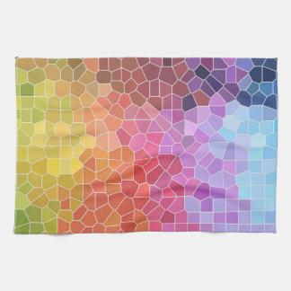 Pieces of Colour Tea Towel