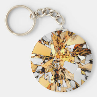 Pieces of Gold Key Chains