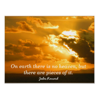 Pieces of heaven - art print