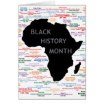Pieces Of History BHM Notecards Note Card