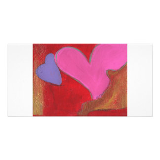 Pieces of Love Photo Greeting Card