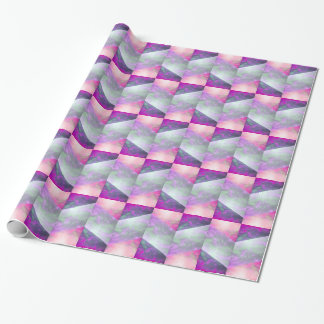 Pieces of Sky Purple Gift Wrap