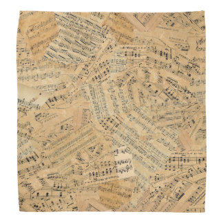 Pieces of Vintage Music POMVa Bandana