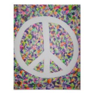 Pieces Peace Poster
