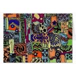 Piecie-Piecie Artwork Card- Blank