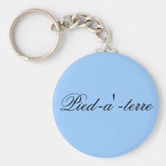 Pied-a'-terre key chain