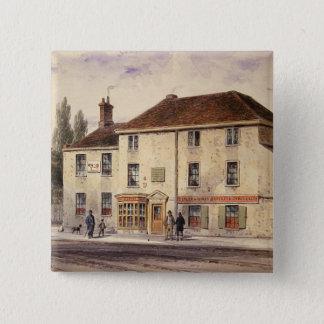 Pied Bull Public House, 1848 15 Cm Square Badge