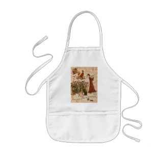 Pied Piper Collage Aprons