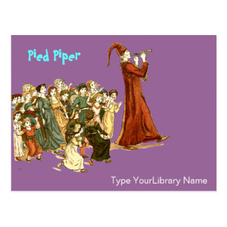 Pied Piper Postcards