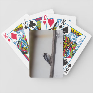 Pied Wagtail Bicycle Playing Cards