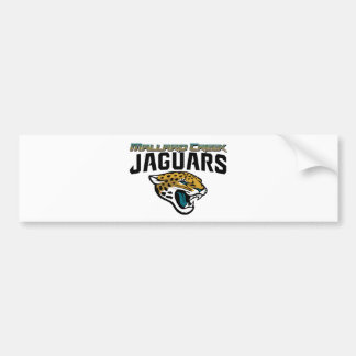Piedmont Youth Football Mallard Creek Jaguars Bumper Sticker