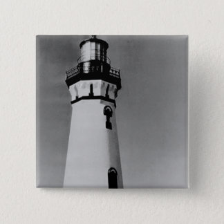Piedras Blancas Lighthouse 15 Cm Square Badge