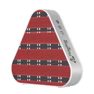 Pieladium Speaker RED/BLACK BARS