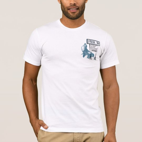 pier 39 colourful T-Shirt