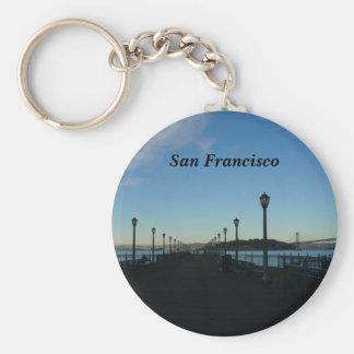 Pier 7, San Francisco #3-2 Keychain