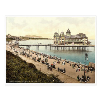 Pier and Pavillion Colwyn Bay Wales rare Photoch Postcards