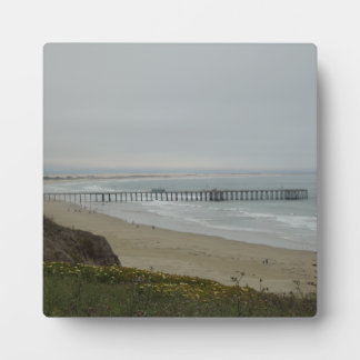 Pier at Pismo Beach, California Display Plaques