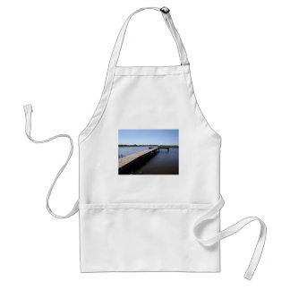 Pier, Salt Marsh, Nantucket Island Standard Apron