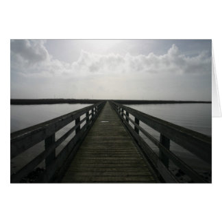 Pier to Nowhere Card