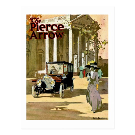 Pierce Arrow Vintage Advertisement Postcard