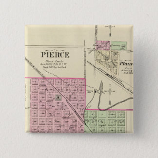 Pierce, Nebraska 15 Cm Square Badge