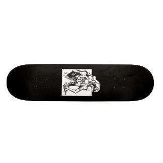 Pierced Skateboard Deck