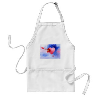 Piercing Heart aceo Apron