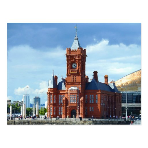 Pierhead Building, Cardiff, Wales, UK Post Cards