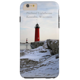 Pierhead Lighthouse Kenosha, Wisconsin Tough iPhone 6 Plus Case